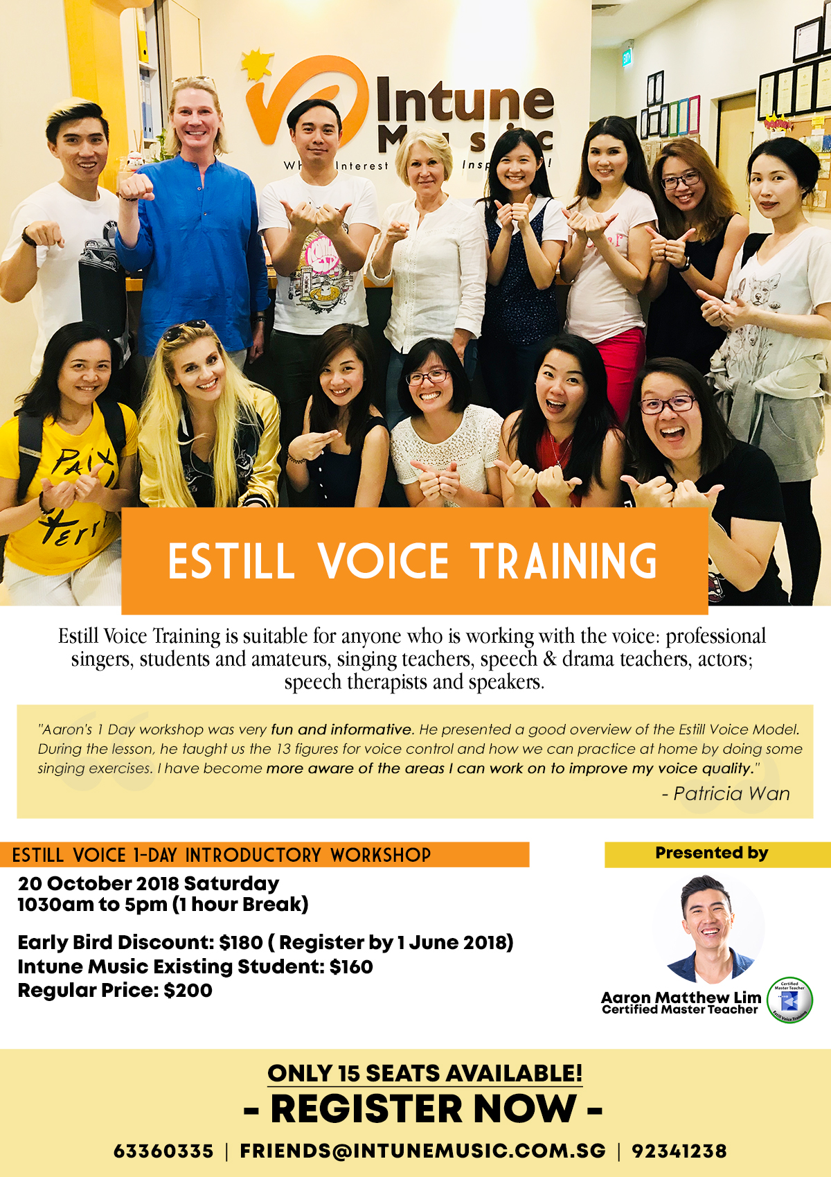 Estill Voice Training Introductory Workshop: A practical strategy